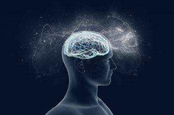 dibujo de persona con cerebro